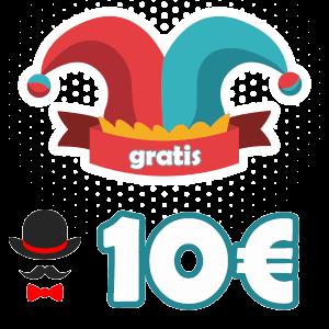 10 euros gratis para un bono sin deposito gratis