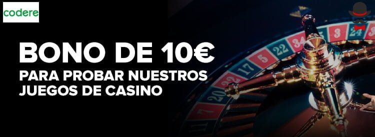 bono casino codere