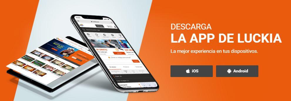 luckia para dispositivos android