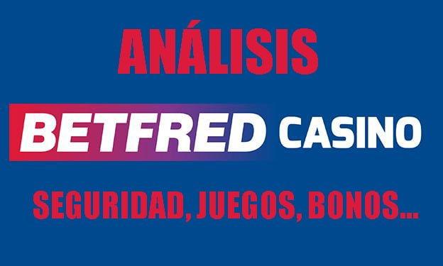 análisis betfred casino