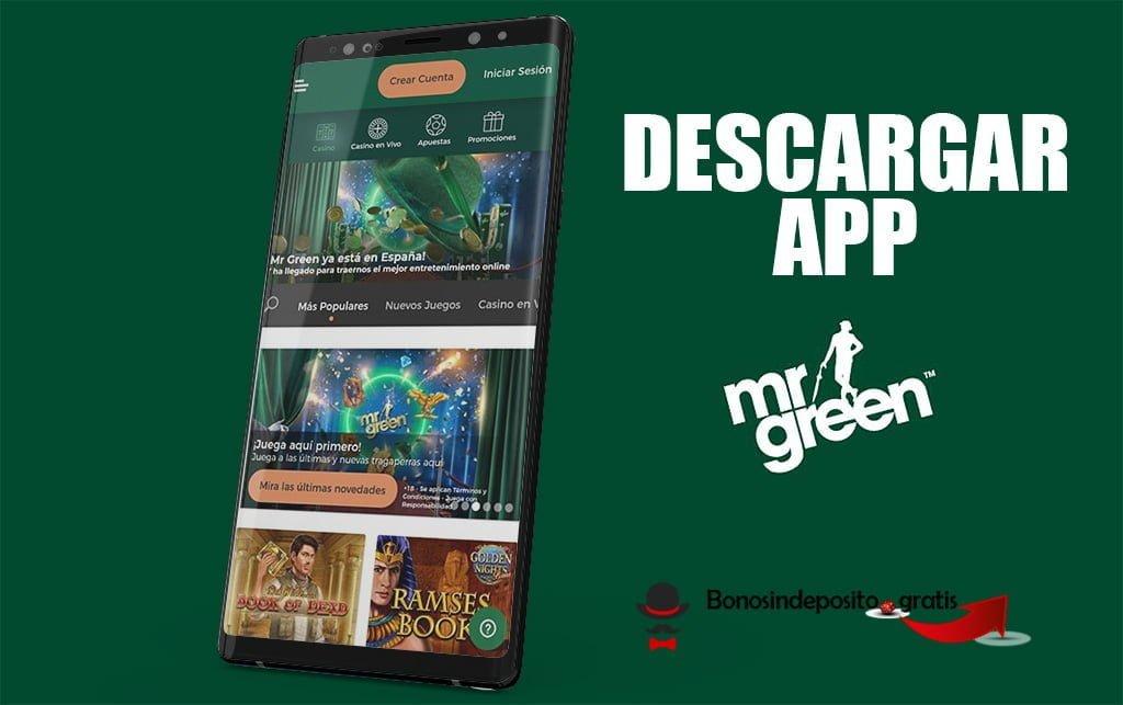 descargar app mr green apk