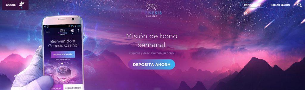 misión bono semanal genesis
