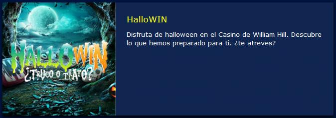 William Hill HalloWin