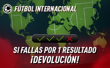 Sportium Combinadas Futbol Internacional