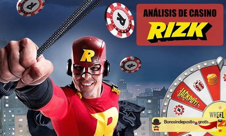 análisis rizk casino