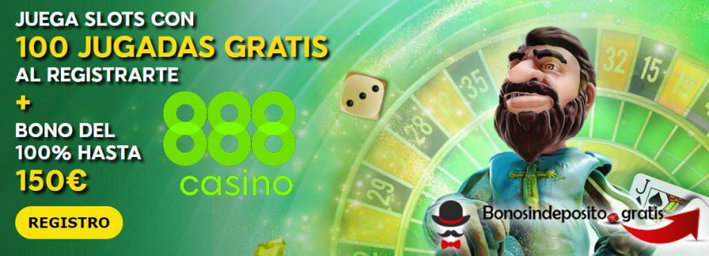 bono sin depósito 888casino gratis