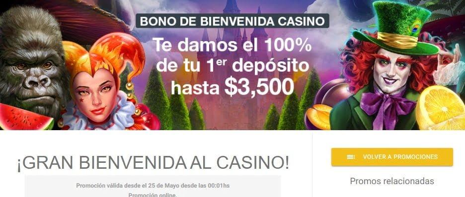 bono casino codere