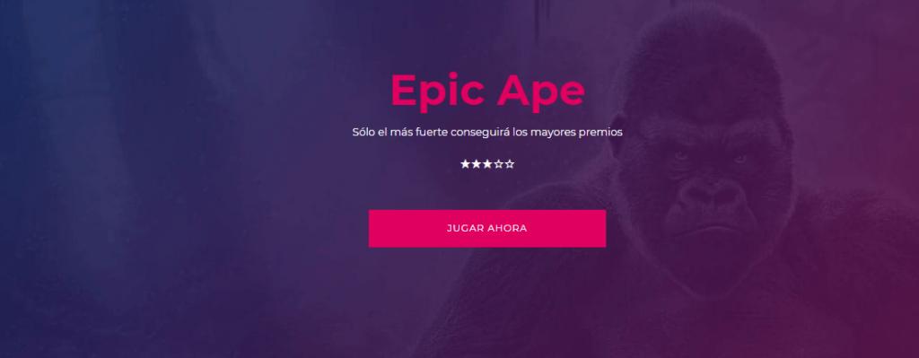 20 tiradas gratis epic ape