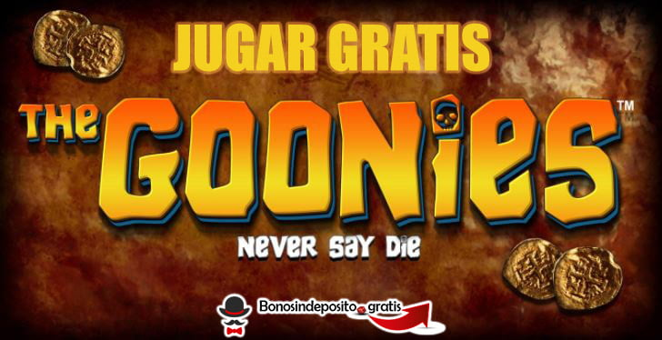 jugar gratis the goonies slot