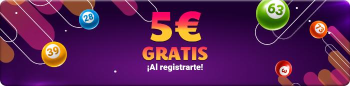 5 € gratis