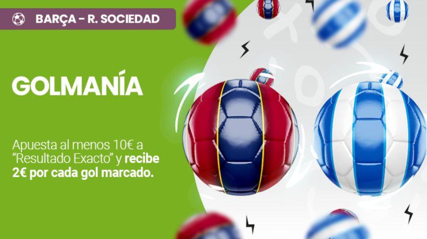 golmanía retabet del barcelona - real sociedad